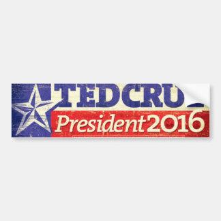 Adesivo De Para-choque Ted Cruz para o presidente autocolante no vidro