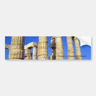 Adesivo De Para-choque Templo de Poseidon - Sounio