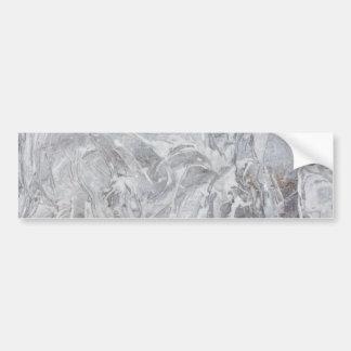 Adesivo De Para-choque Teste padrão de mármore