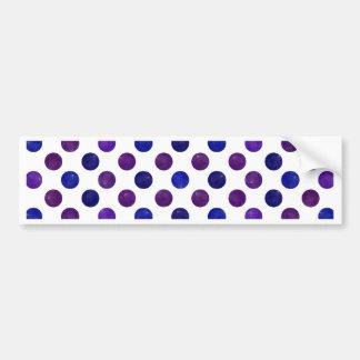 Adesivo De Para-choque Teste padrão de pontos bonito XV