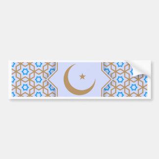 Adesivo De Para-choque teste padrão geométrico islâmico