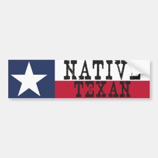 Adesivo De Para-choque Texan nativo