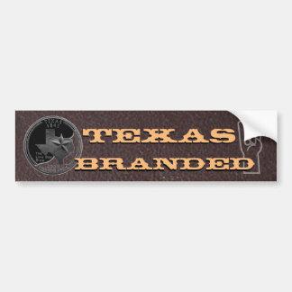 Adesivo De Para-choque Texas marcou o gesto de Longhorn