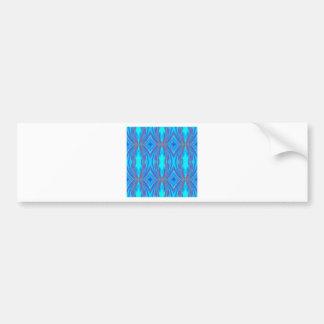 Adesivo De Para-choque Textura azul e cor-de-rosa