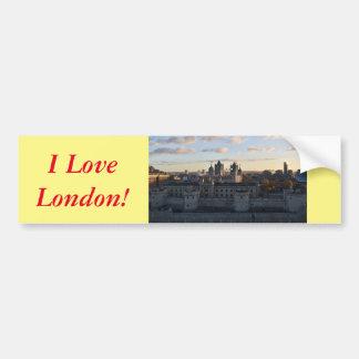 Adesivo De Para-choque Torre de Londres