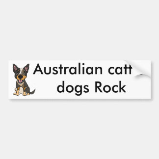 Adesivo De Para-choque Trabalhos de arte australianos engraçados do