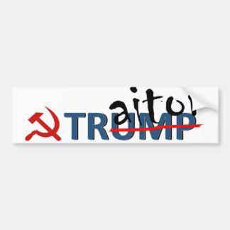 Adesivo De Para-choque Trunfo do traidor