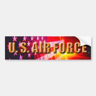 Adesivo De Para-choque U.S. Autocolante no vidro traseiro da força aérea