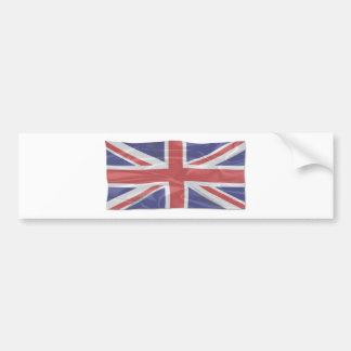 Adesivo De Para-choque Union Jack de seda de vibração