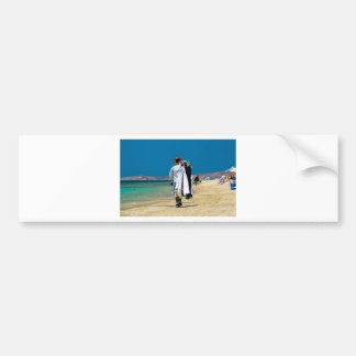 Adesivo De Para-choque Vendedor na praia