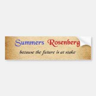 Adesivo De Para-choque Verões/etiqueta campanha de Rosenberg