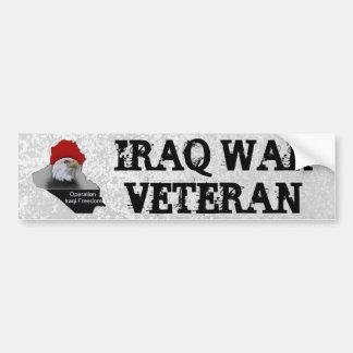 Adesivo De Para-choque Veterano das forças armadas do veterano da guerra