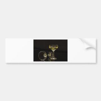 Adesivo De Para-choque vidros do champanhe