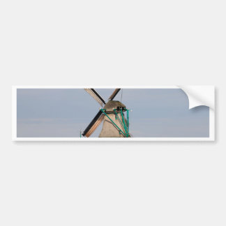 Adesivo De Para-choque Vila holandesa do moinho de vento, Holland 3