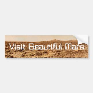 Adesivo De Para-choque Visita Marte bonito