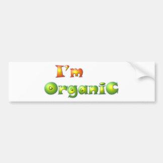 Adesivo De Para-choque Volenissa - eu sou orgânico