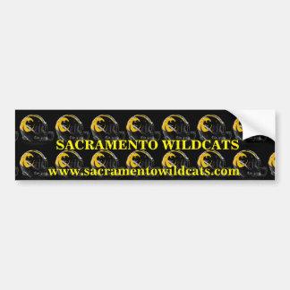 Adesivo De Para-choque Wildcats de Sacramento
