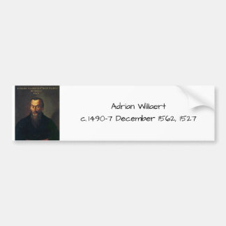 Adesivo De Para-choque Willaert de Adrian
