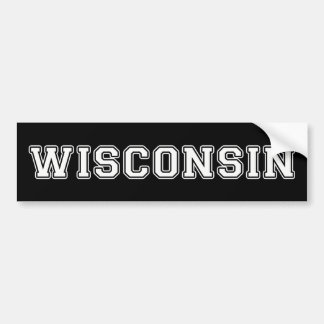 Adesivo De Para-choque Wisconsin