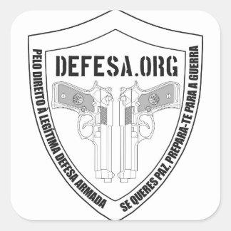 Adesivo DEFESA.ORG Logo