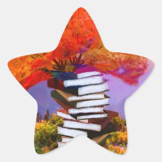 Adesivo Estrela A educação será sempre a base se todo o sucesso