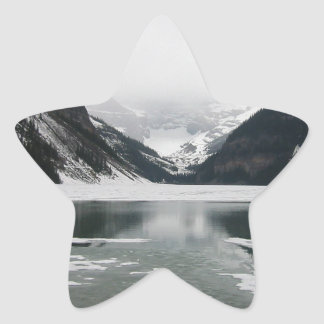 Adesivo Estrela A extremidade do inverno, Lake Louise