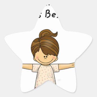 Adesivo Estrela A felicidade… está tendo a melhor irmã. .pn do
