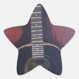 Adesivo Estrela A guitarra de Ryan