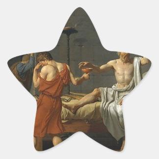 Adesivo Estrela A morte de Socrates