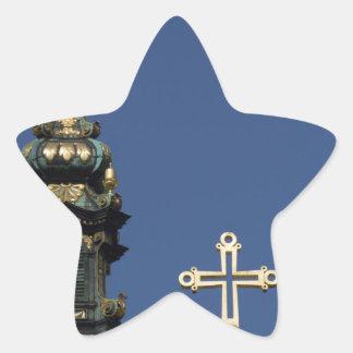 Adesivo Estrela Abóbadas ortodoxos da igreja cristã