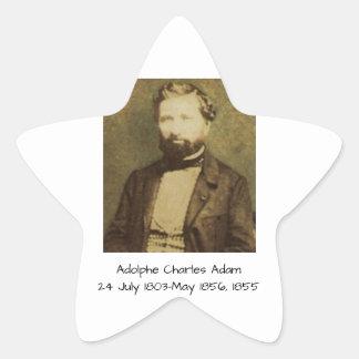 Adesivo Estrela Adolfo Charles Adam, 1855