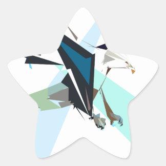 Adesivo Estrela águia