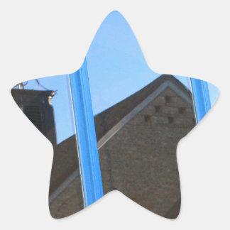 Adesivo Estrela Aleta de vento na janela