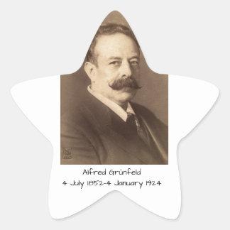 Adesivo Estrela Alfred Grunfeld