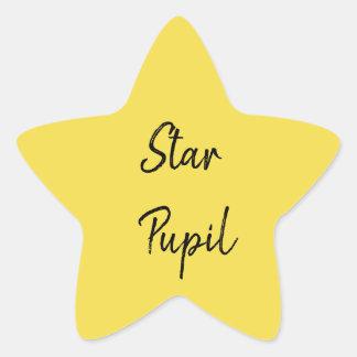 Adesivo Estrela Aluno da estrela