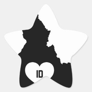 Adesivo Estrela Amor de Idaho
