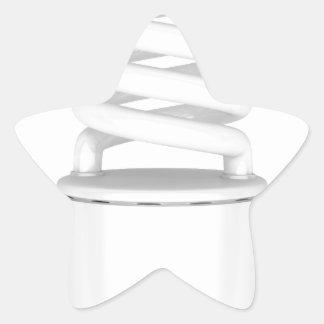 Adesivo Estrela Ampola fluorescente