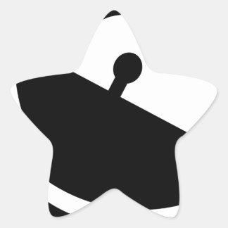 Adesivo Estrela Antena parabólica