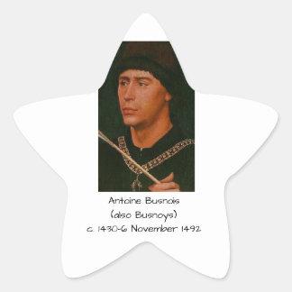 Adesivo Estrela Antoine Busnois igualmente Busnoys