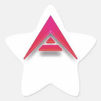 Adesivo Estrela ARCA em 3D
