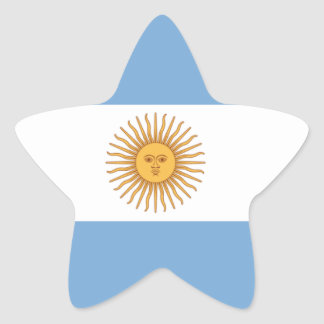Adesivo Estrela Argentina