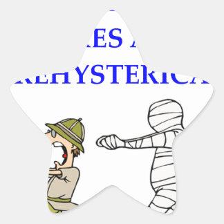 Adesivo Estrela arqueologia
