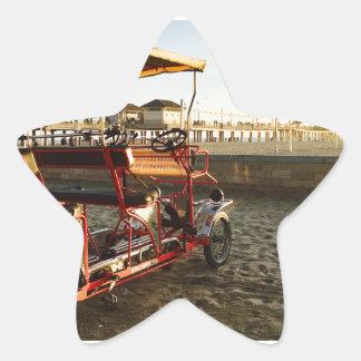 Adesivo Estrela Arrendamentos da praia