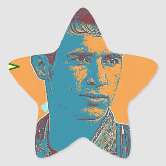 Adesivo Estrela Arte curdo 2 do lutador de YPG