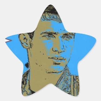 Adesivo Estrela Arte curdo 4 do lutador de YPG