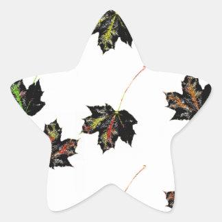 Adesivo Estrela Arte da folha