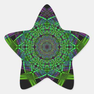Adesivo Estrela Arte do fumo do reciclado (5)