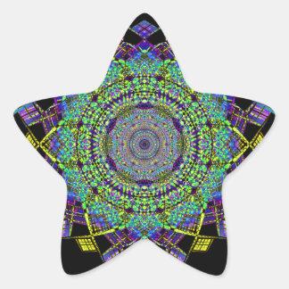 Adesivo Estrela Arte do fumo do reciclado (6)