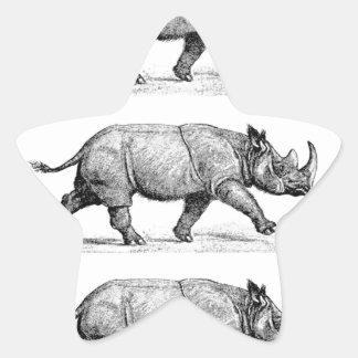 Adesivo Estrela Arte Running dos Rhinos