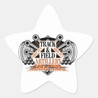 Adesivo Estrela artilharia de exército de campanha da trilha n